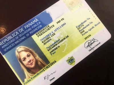 panama permanent resident card