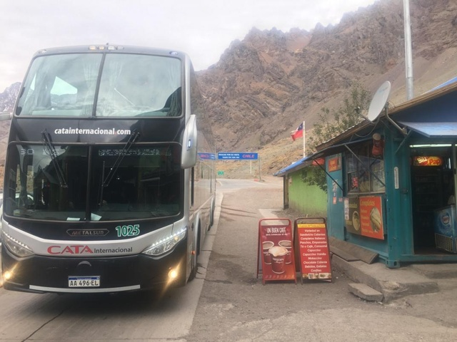 The CATA Bus at the Border
