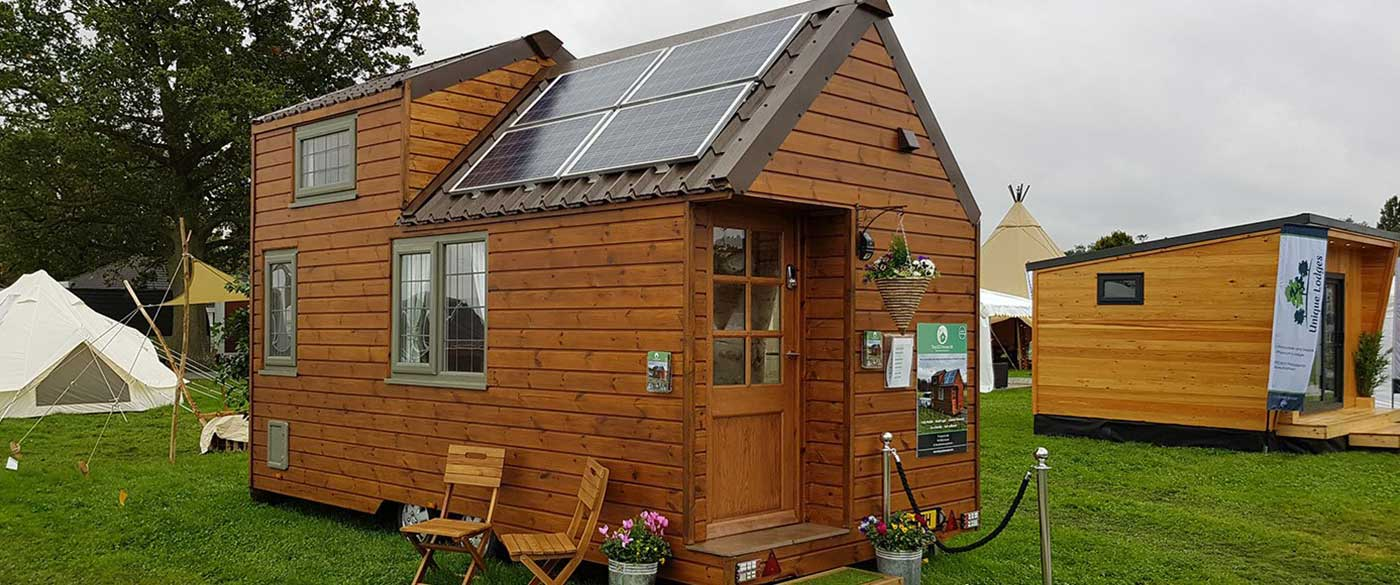 Eco-friendly tiny home village in England - Courtesy of www.tinyecohomesuk.com