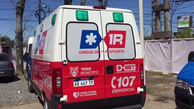 Ambulance in Argentina