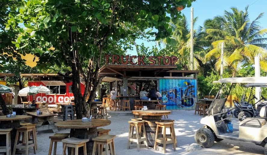 The Truck Stop, Ambergris Caye2