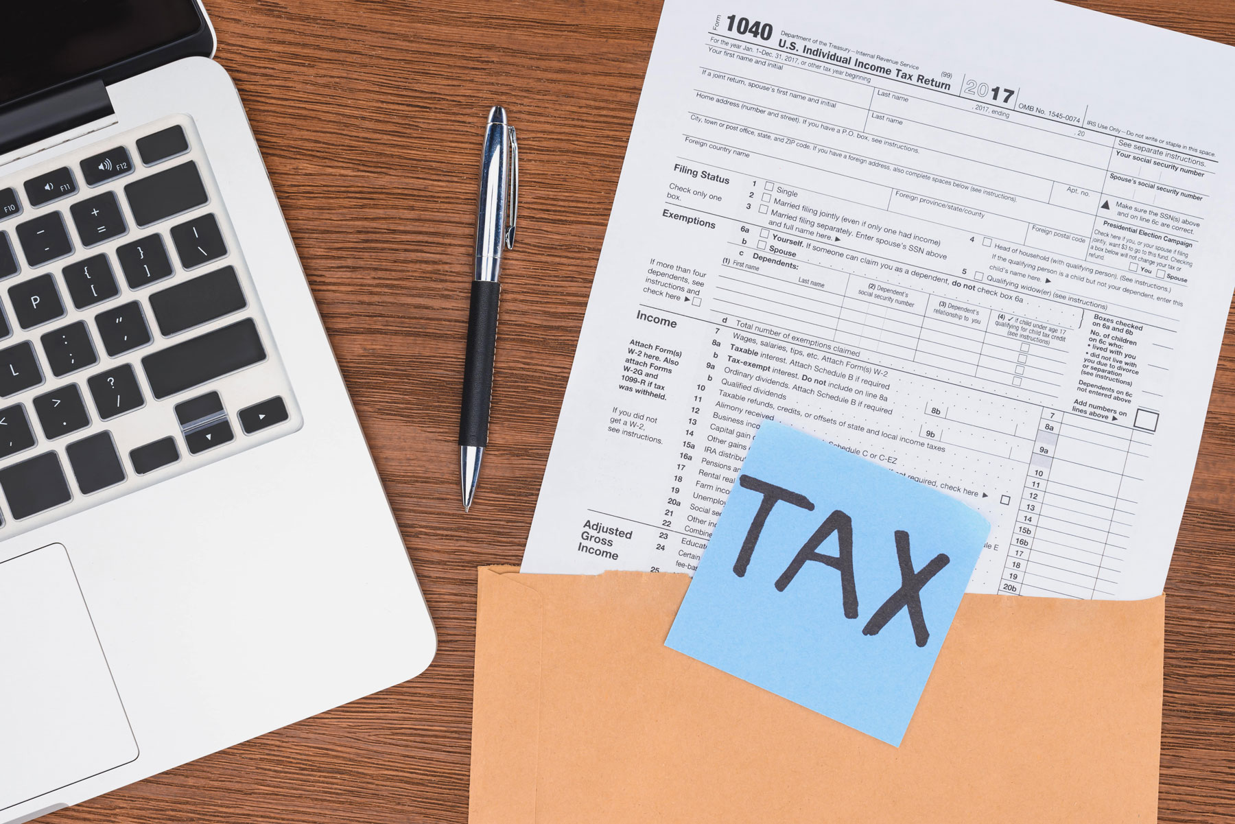 Filling Out Tax forms